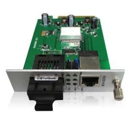 卡式千兆1光1电光纤收发器